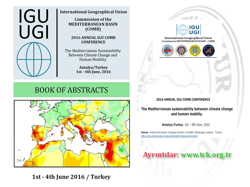 2016 ANNUAL IGU COMB CONFERENCE