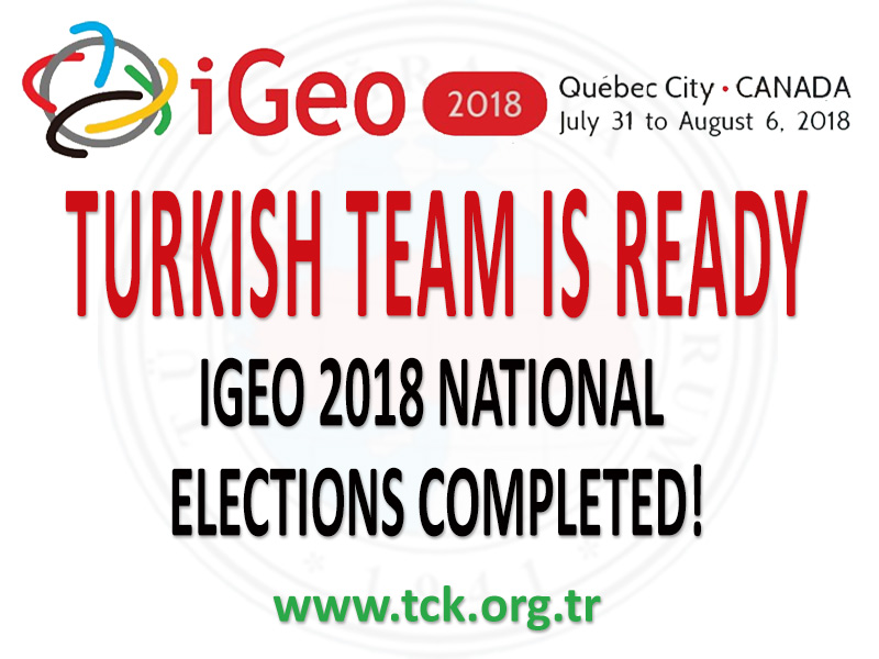 IGEO 2018 NATIONAL ELECTIONS COMPLETED