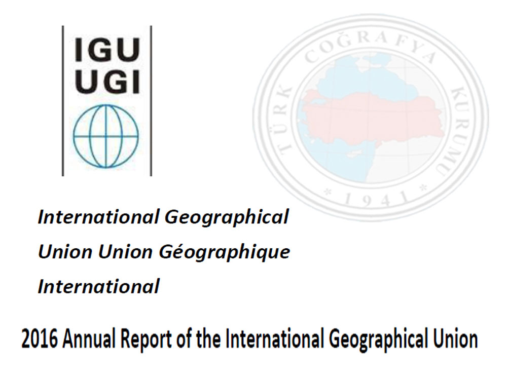 2016 Annual Report of the International Geographical Union